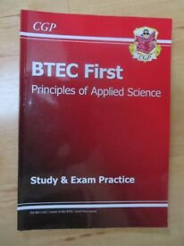 CGP BTEC FIRST PRINCIPLES OF SCIENCE STUDY GUIDE