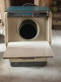 Vintage, keymatic washing mashine
