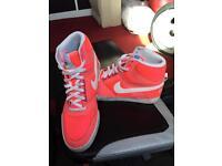 Nike Hi Tops Trainers Size 10