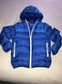 Boys blue Adidas jacket