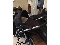 Icandy Apple carry cot and stroller
