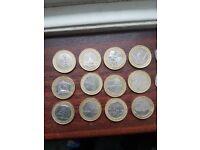 Rare collectible £2 coins