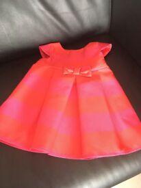 Jasper Conran girls dress 9-12 months