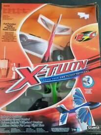 X-twin RC aeroplanes