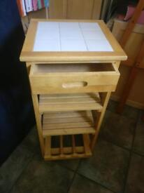 Movable Portable Kitchen Island Trolley