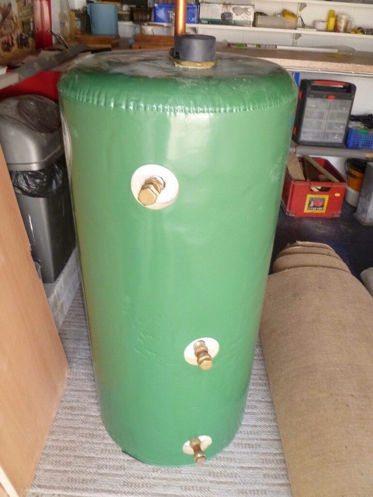 As New Tank, Hot water cylinder - Gledhill 140 Lt. indirect ...