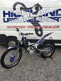 2007 Scorpa SY 250 trials bike