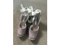 Zara size 3 wedges new with tags