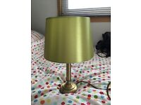 Lamp and shade for sale