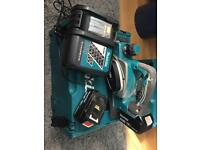 18v LXT MAKITA PLANER, 2 x 4amp battery's
