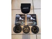 Scierra 7/9 fly fishing reel spools and line!