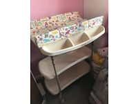 Mamas and Papas Baby Changing table with bath