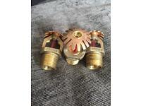 Rasco Angus fire sprinkler 2003 1969 upc brass copper collectible old rare