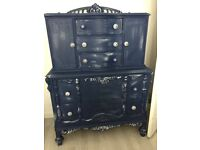 Stunning navy Wardrobe and chest of drawers / dresser