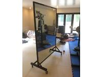 Dance Gym Fitness mirror large and portable