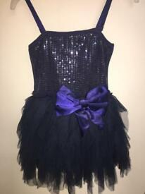 Ooh! La, la Couture dress (American) navy Aged 4