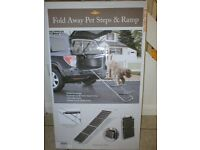 BARGAIN...Foldaway Ramp Steps For 4x4 Or Estate Car For Your Dog...