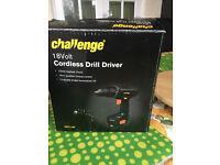 Challenge 18V Cordless Drill Driver