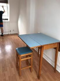 1950s table and stool