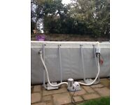 Intex swimming pool for sale 16ft by 8ft