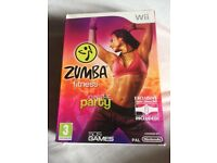 Zumba game and belt for wii