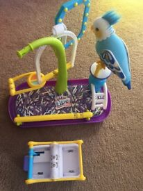 Clever Keet Interactive Bird (Blue)