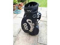 Callaway tour bag with rain cover. £25