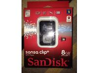 Sansa clip+ MP3 player bnib