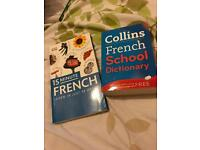 French textbooks / dictionary