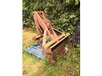 Mil Mastiff rear trip loader