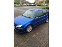 Saxo VTR 2002, low miles and history