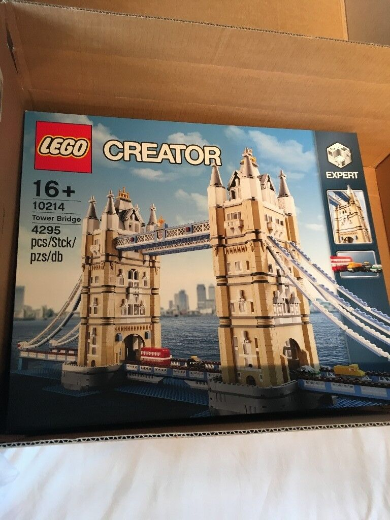 LEGO Tower Bridge, Creator Expert, Brand New Factory Sealed Box, Hard to Find