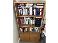 John Lewis Oak bookshelf
