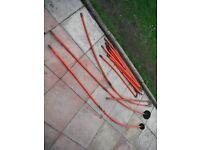 drain rods 15 piece set £20,00 no offers