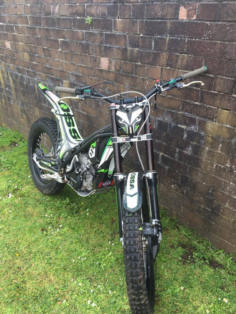 ossa tr280i road legal trials bike for sale in greenock. Black Bedroom Furniture Sets. Home Design Ideas