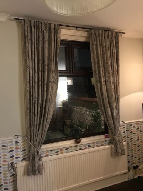 Extra Long Heavy Weight Fully Lined Curtains 90 X 115