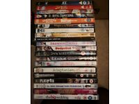 HUGE selection of DVDs - something for all the family.