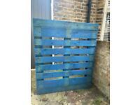 Large blue pallet - free