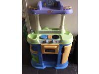 Little tikes plastic toy kitchen