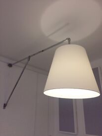 VERY UNIQUE OVERSIZED INDUSTRIAL LIGHT SHADES AND FITTINGS X2 MATCHING PAIR SUIT BAR/ CLUB