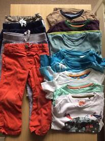 Baby boy 18-24 mths clothes bundle M&S, Name It etc