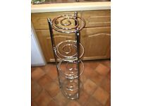 Free standing kitchen pot stand