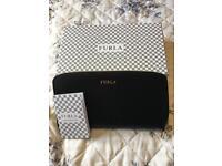 Furla Black saffiano leather purse - New in box