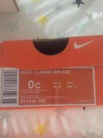 Baby Nike crib shoes