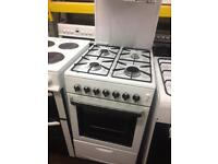 White flavel 50cm eye level gas cooker grill & oven good condition with guarantee