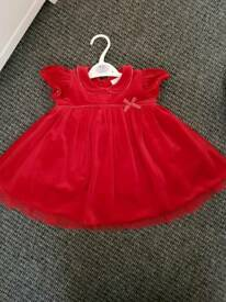 Baby girl Christmas dress NEXT