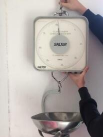 Salter hanging weighing scales