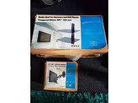 """10""""-32"""" Cantilever TV MOUNT FOR LCD and plasma tv and double shelf receivers and dvd players s"""