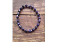 Elasticated Bracelet / Awareness Bracelet / Sodalite Bracelet / Gemstone Bracelet / Boho Bracelet