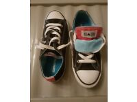 Converse All Stars Pumps - Size 2 (Fit small 3 perfect)